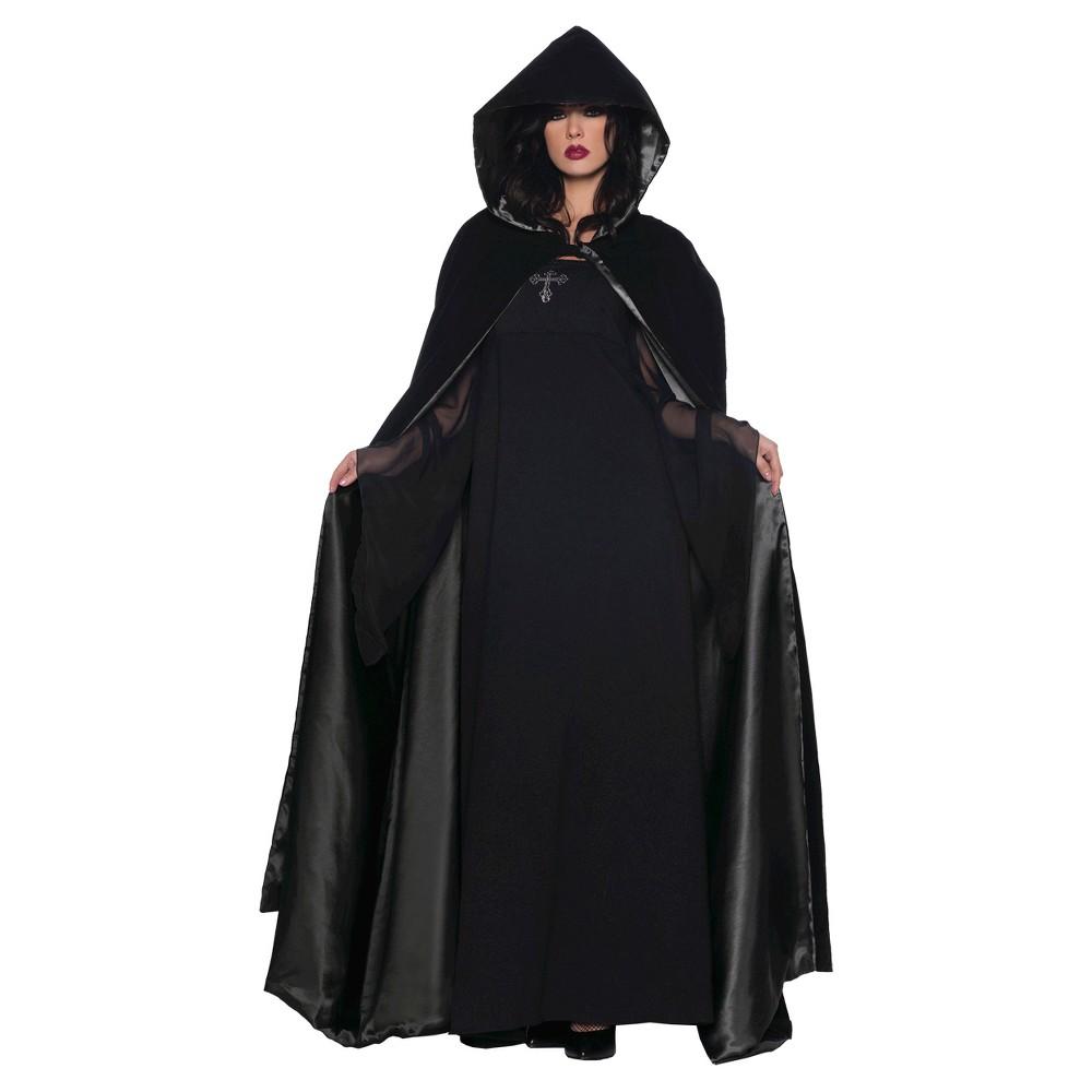 Adult Costume Cape Deluxe 63, Women's, Black