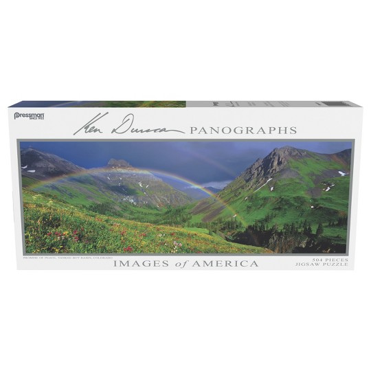 Pressman Images Of America: Promise Of Peace Panoramic Puzzle 504pc image number null