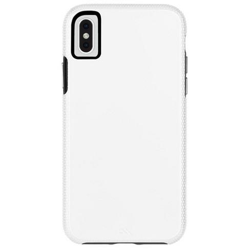 huge discount f0ab3 0d2d5 Case-Mate iPhone Xs Max Tough Grip - White/Black Case