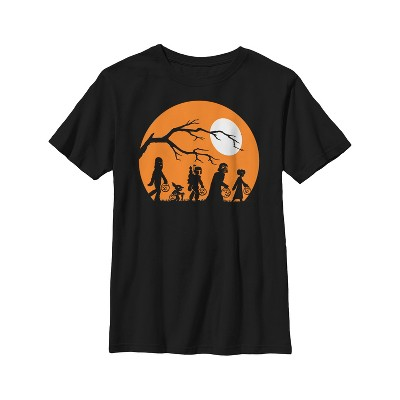 Boy's Star Wars Characters Trick or Treat T-Shirt