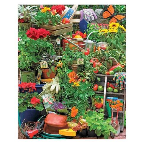 Springbok Garden Delights Puzzle 1000pc - image 1 of 1