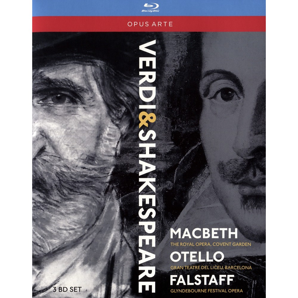 Verdi:Shakespeare Operas (Blu-ray)