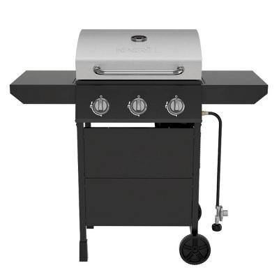 Nexgrill 3-Burner Stainless Steel Gas Grill 720-1012