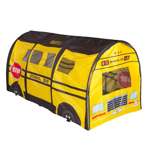 Pacific Play Tents School Bus Kids Play D Tunnel 6 Ft - image 1 of 4