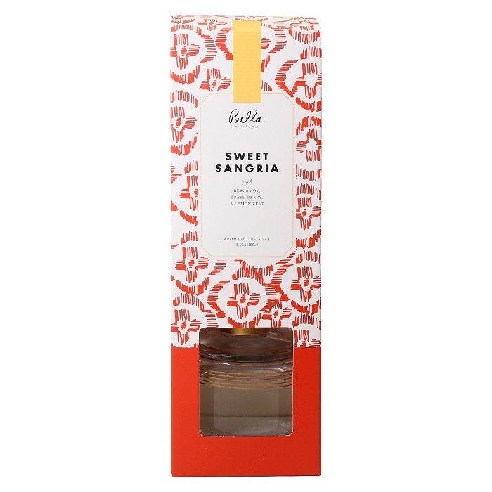 5.1oz Reed Diffuser Sweet Sangria - Bella By Illume - image 1 of 1