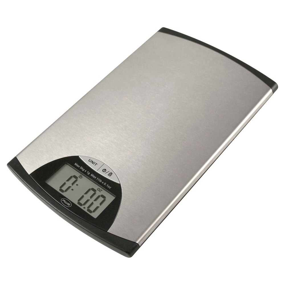 Image of AWS Stainless Steel Digital Kitchen Scale, Silver