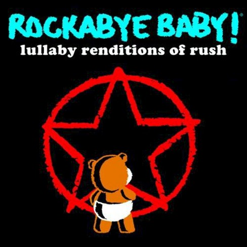 Various - Rockabye baby:Rush lullaby renditions (CD) - image 1 of 1