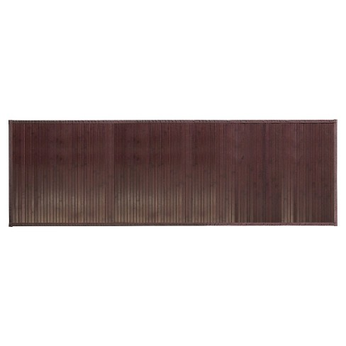 Formbu Solid Bath Mat (Runner) Mocha - iDESIGN - image 1 of 3