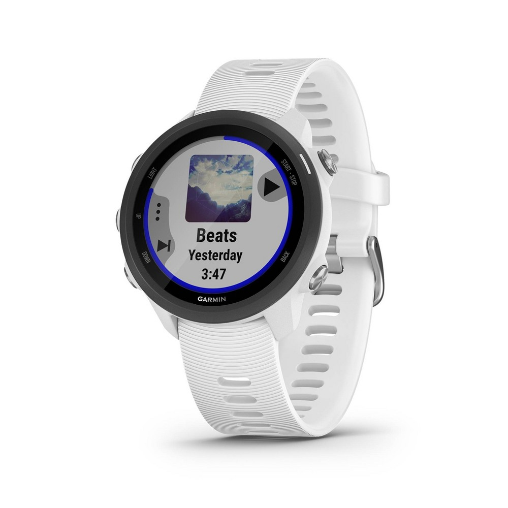 Garmin Forerunner 245 Gps Running Smartwatch With Music White