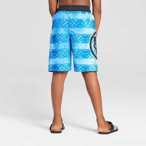 49850e6a97 Boys' Marvel Black Panther Swim Trunks - Blue : Target