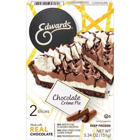 Edwards Frozen Chocolate Creme Pie Slices - 5.34oz/2ct - image 1 of 4