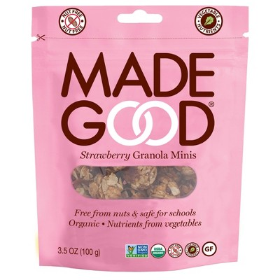 MadeGood Strawberry Granola Minis - 3.5oz