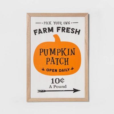 Wooden Pumpkin Patch Halloween Sign - Hyde & EEK! Boutique™