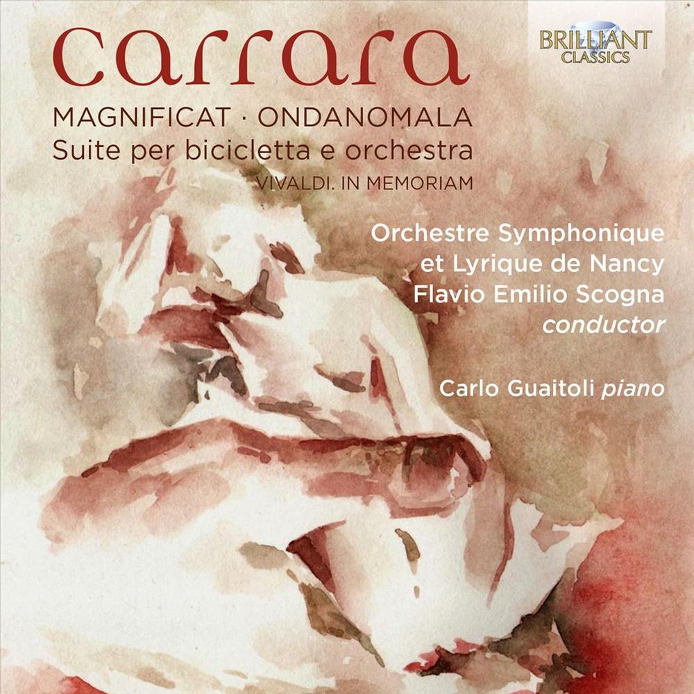 Carlo Guaitoli - Carrara:Magnificat/Ondanomala (CD)