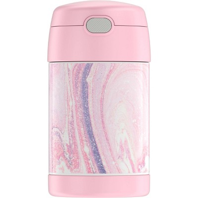 Thermos 16oz FUNtainer Food Jar - Pink Marble
