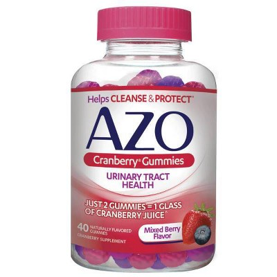 Vitamins & Supplements: AZO Cranberry Gummies