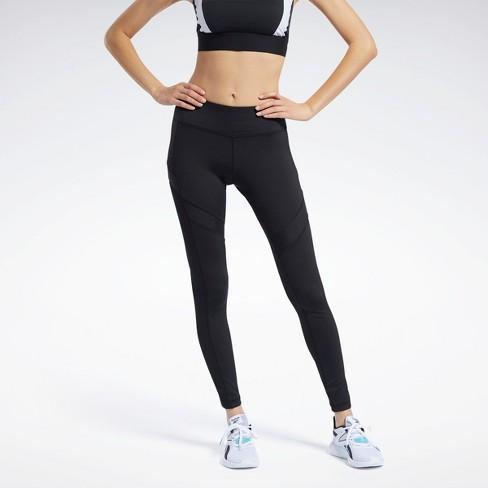 Reebok Workout Ready Mesh Leggings Womens Athletic Leggings - image 1 of 4
