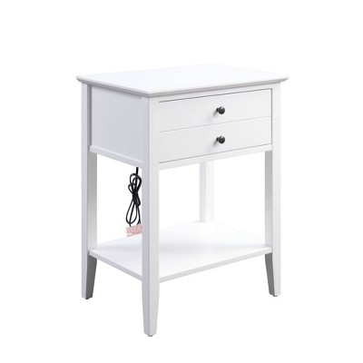 Grardor Side Table with USB Charging Dock - Acme Furniture
