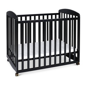 DaVinci Alpha Mini Rocking Crib - Black