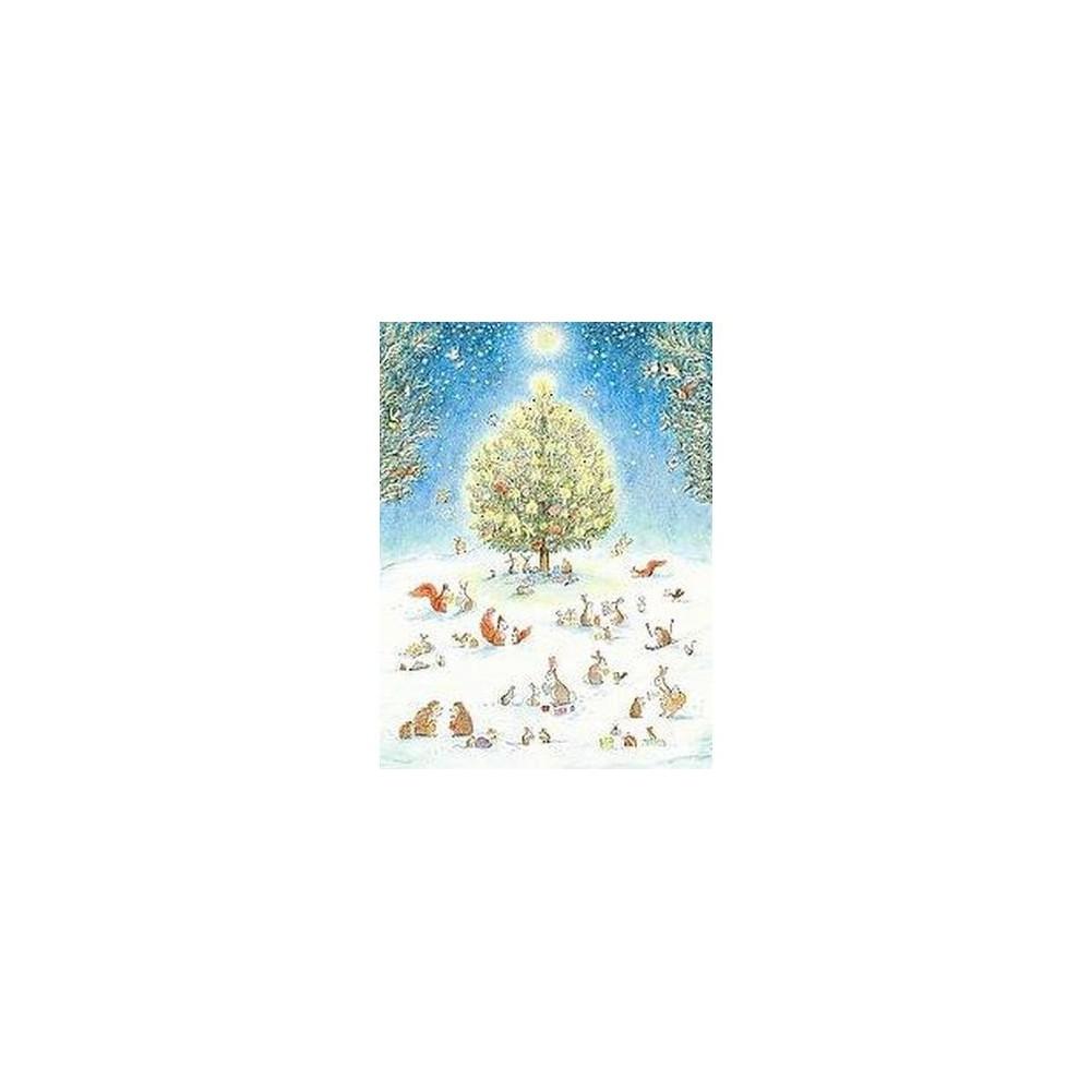 Woodland Christmas Advent Calendar (Paperback) (Bernadette)