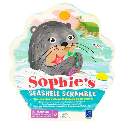 Educational Insights Sophie's Seashell Scramble Game - image 1 of 6