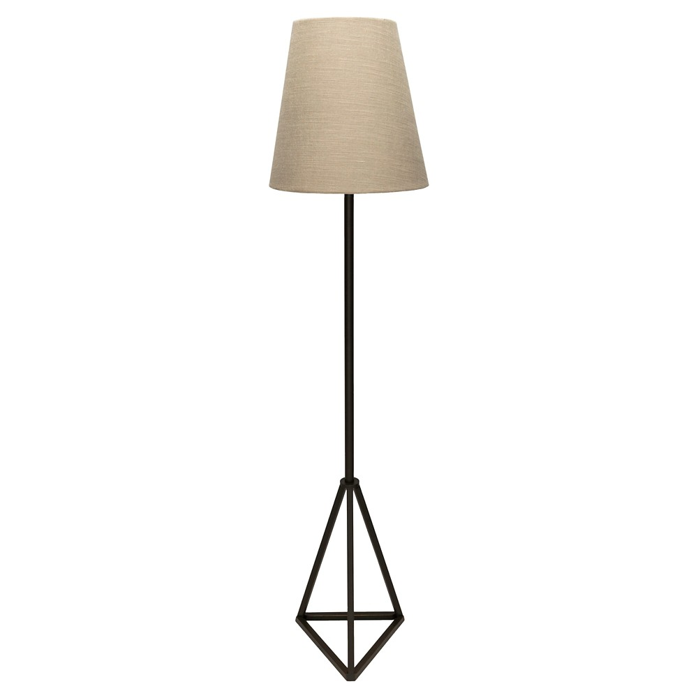 Barik Table Lamp Black (Lamp Only) - Surya