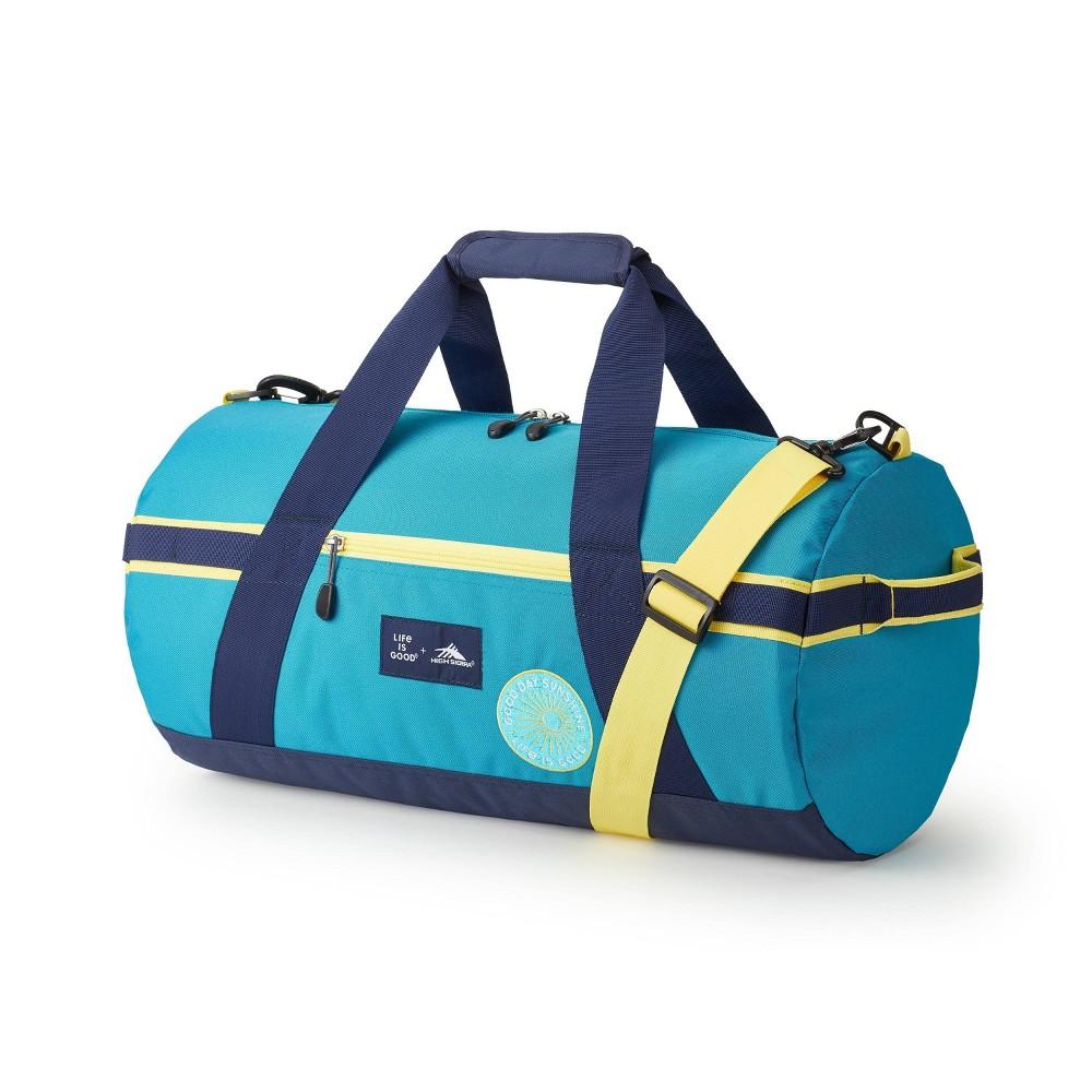Image of High Sierra Life Is Good Cargo Duffel Bag - Blue, Multicolored Blue