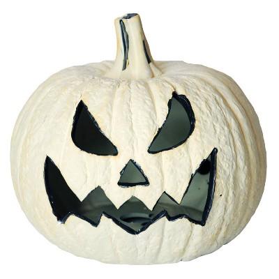 Pumpkin Fire Log Halloween Decorative Prop