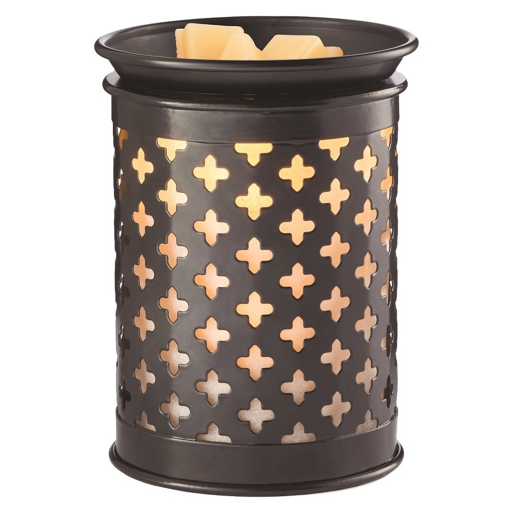 Old World Tin Punched Illumination Fragrance Warmer - Candle Warmers Etc., Bronze