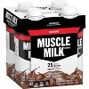 Muscle Milk Genuine Protein Shake - Chocolate - 11 fl oz/4pk - image 2 of 4