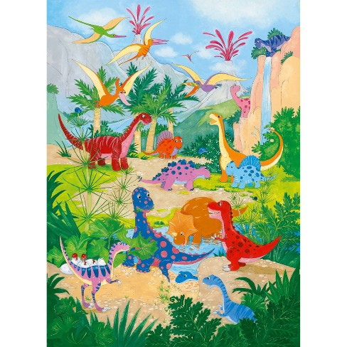 WallPops!® Ideal Décor Dino World Mural - image 1 of 3