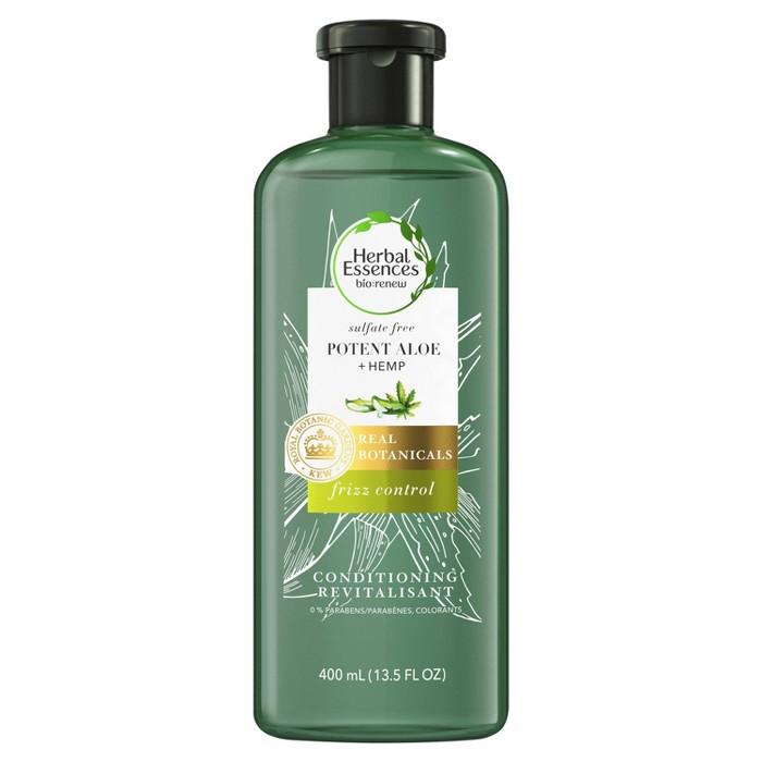 Herbal Essences Bio:renew Hemp + Potent Aloe Conditioner For Frizz - 13.5 Fl Oz : Target