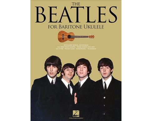 Beatles For Baritone Ukulele -  (Paperback) - image 1 of 1