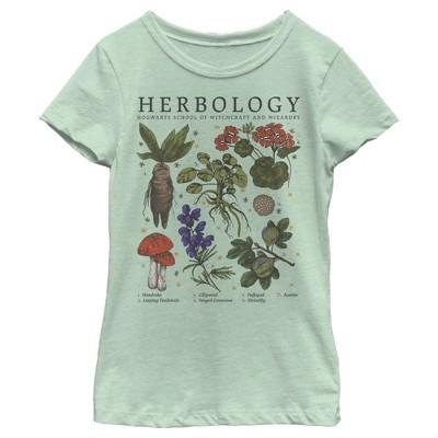 Girl's Harry Potter Hogwarts Herbology T-Shirt