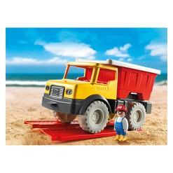 Playmobil Dump Truck, mini figures
