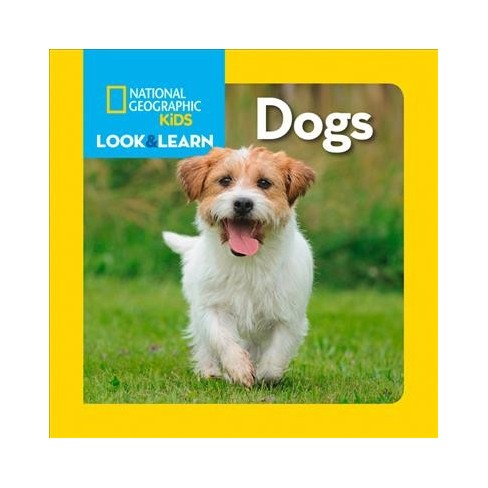 Dogs - (National Geographic Kids) (Board_book) - image 1 of 1