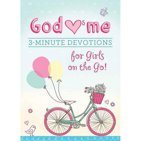 God Hearts Me: 3-Minute Devotions for Girls on the Go! - by  MariLee Parrish (Paperback) - image 1 of 1
