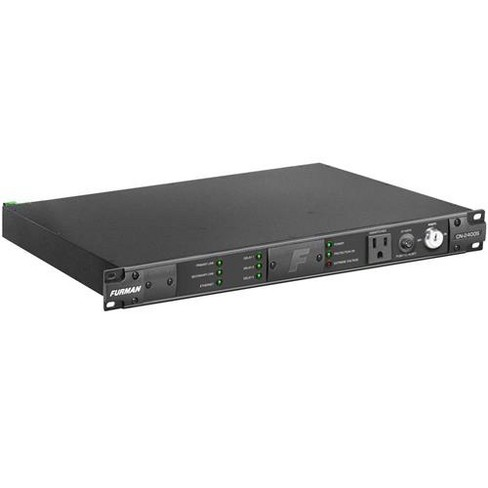Furman Sound Contractor Series CN-2400S 1RU 20 Amp Bidirectional SmartSequencer with SMP, EVS, 9 Outlets, 10' AC Cord - image 1 of 3