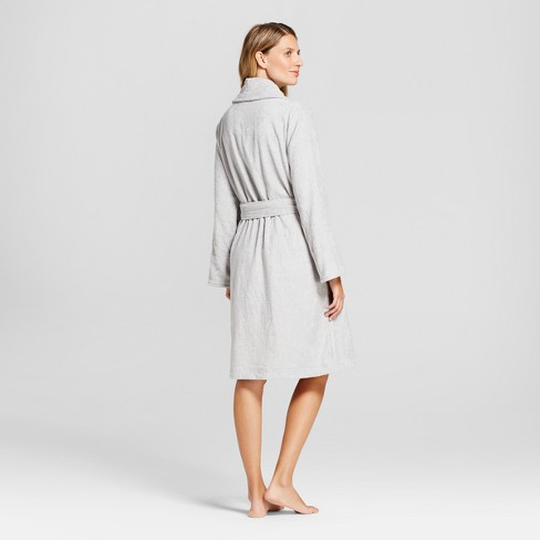 9167b7b49a Women s Robes - Gilligan   O Malley™ Millstone Gray XL XXL   Target