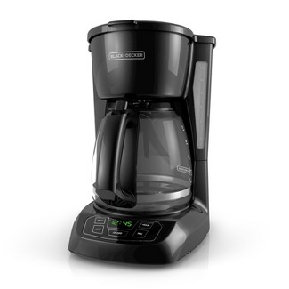 BLACK+DECKER 12 Cup Programmable Coffee Maker - Black CM1100B