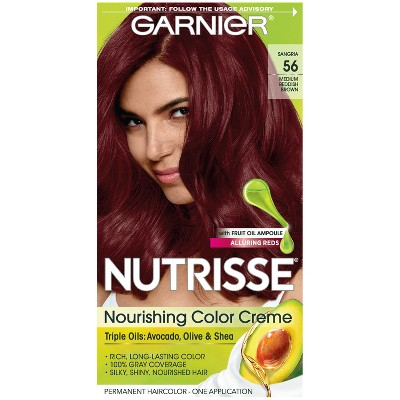 Garnier Nutrisse Nourishing Permanent Hair Color Creme