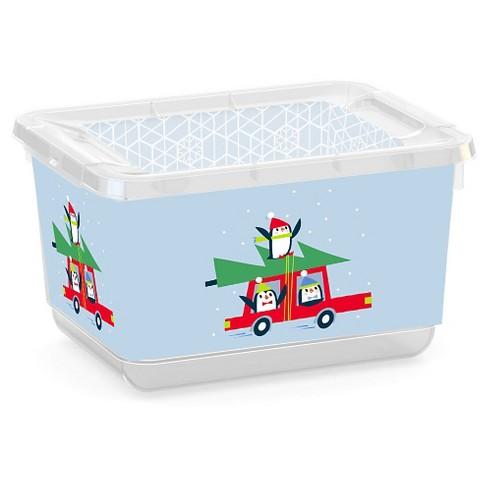 Storage Bin XXS - Penguins - Room Essentials™ - image 1 of 1