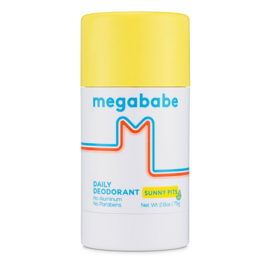 Megababe Sunny Pits Daily Deodorant 2 6oz