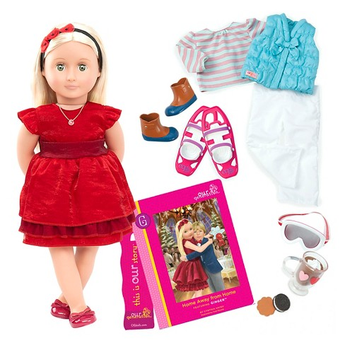 de1634bd995fb Our Generation® Deluxe Poseable Christmas Doll - Ginger™ : Target