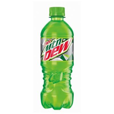 Diet Mountain Dew Citrus Soda - 20 fl oz Bottle