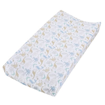 aden + anais Changing Pad Cover Natural History Species