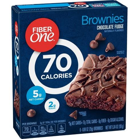 Fiber One Chocolate Fudge Brownies - 5.34oz / 6ct - image 1 of 3