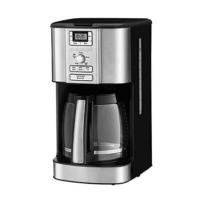Cuisinart 14 Cup Brew Central 24 Hour Programmable Drip Coffee Maker with Glass Carafe (Manufacturer Refurbished)