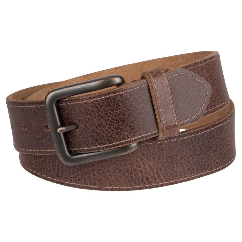 Denizen 174 From Levi 39 S 174 Men 39 S Leather Belt Brown Xl