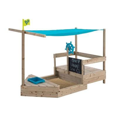 TP Toys Ahoy Wooden Play Boat